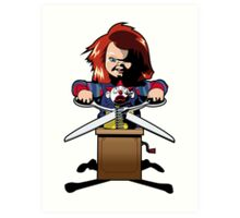 Child's Play 2 (Chucky) Art Print
