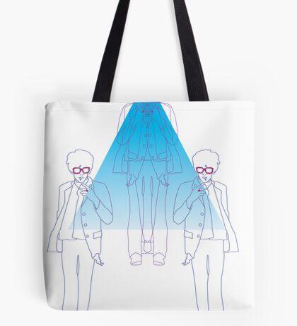 Keith Richards Reflected Tote Bag