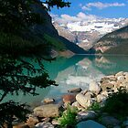 Lake Louise, Canada 2013 by Maureen Clark