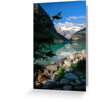 Lake Louise, Canada 2013 Greeting Card