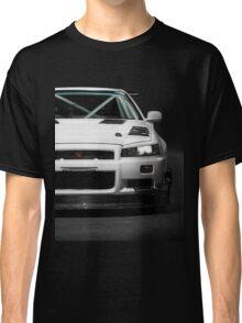 Mat Wootten's Nissan Skyline R34 GTT Classic T-Shirt