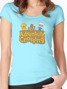 Adventure Crossing Women's Fitted Scoop T-Shirt