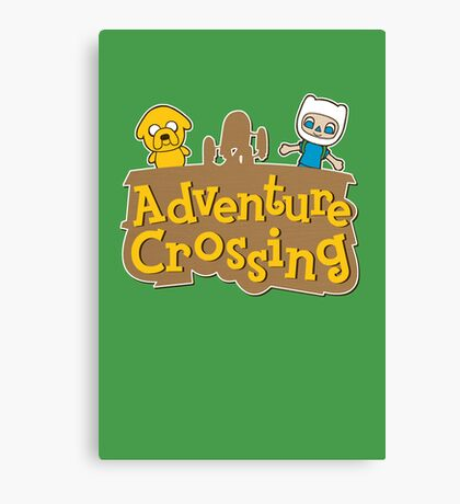 Adventure Crossing Canvas Print