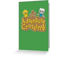 Adventure Crossing Greeting Card