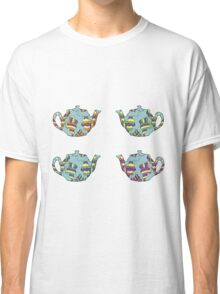 Psychedelic Teapots Classic T-Shirt