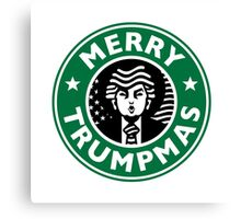 Merry Christmas Starbucks! Sincerely, Donald Trump Canvas Print