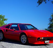 1980 Ferrari... I had a Dream......... by Larry Llewellyn