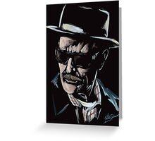 Walter White / Heisenberg (Breaking Bad) Greeting Card