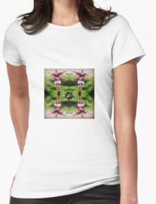 Girl in her Element Womens Fitted T-Shirt