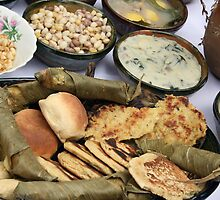 Ecuadorian Breads and Sauces by rhamm