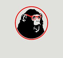 Nerd Ape with Glasses Unisex T-Shirt