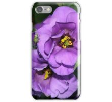 Lisianthus The Purple Bluebell iPhone Case/Skin