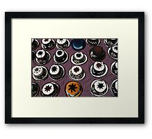 Knit Hats on a Rug Framed Print