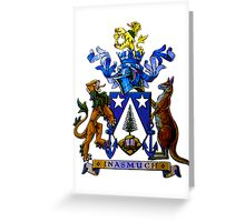 Norfolk Island Coat Of Arms Greeting Card
