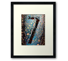 7 - II Framed Print