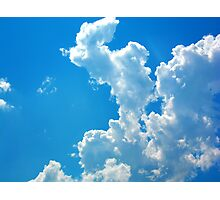 Blue Sky Photographic Print