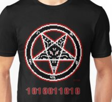 8 Bit Baphomet Pentagram  Unisex T-Shirt