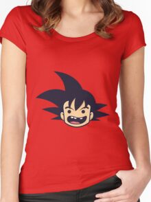 Goku Dragon Ball Women's Fitted Scoop T-Shirt