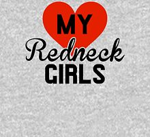 Love My Redneck Girls Womens Fitted T-Shirt