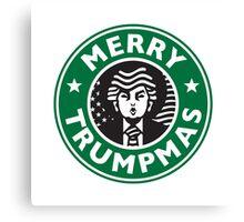 Merry Christmas Donald Trump! Sincerely, Starbucks Canvas Print