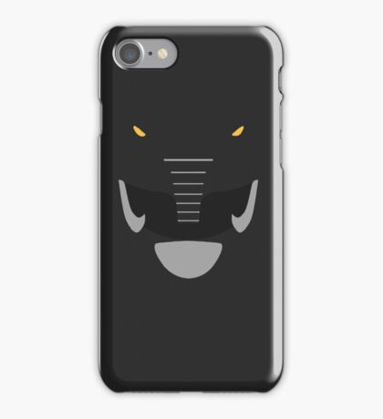 Mighty Morphin Power Rangers Black Ranger iPhone Case/Skin