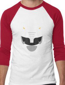 Mighty Morphin Power Rangers Black Ranger Men's Baseball ¾ T-Shirt