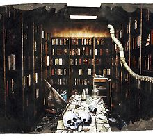 DEATH OF BOOKS by Matterotica