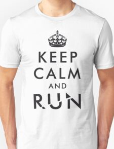 Keep calm and RUN v03 T-Shirt