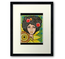 Dripping Satisfaction Framed Print