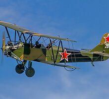 Polikarpov PO-2 Mule G-BSSY white 28 by Colin Smedley
