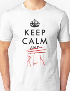 Keep calm and RUN v01 T-Shirt