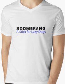 Boomerang Mens V-Neck T-Shirt