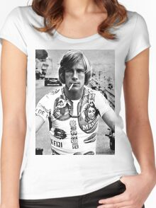 James Hunt Women's Fitted Scoop T-Shirt