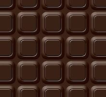 Dark Chocolate Bar by destei