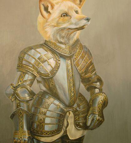 Fox Knight Sticker