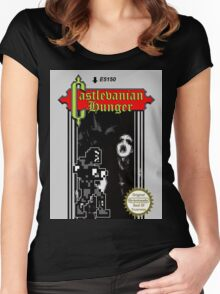 Castlevanian Hunger Women's Fitted Scoop T-Shirt