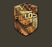 Custom Dredd Badge - (Fields) Unisex T-Shirt