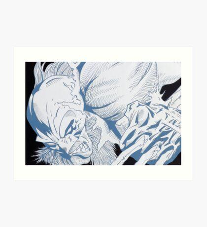 Wolverine 03 - Painting Art Print