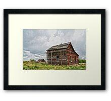 Prairie Soldier Framed Print