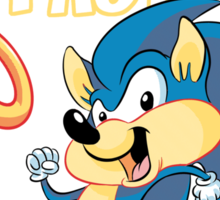Speedy the Hedgehog (clean) Sticker
