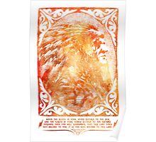 American Indian Chief Portrait  Poster