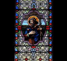 Stained Glass Extravaganza: Saint Roch by artisandelimage