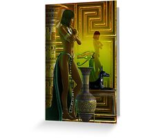 cleo reflections Greeting Card
