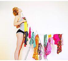 fashion victim Photographic Print