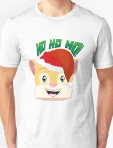 "Minecraft Youtuber Stampy Cat - Santa / Christmas / Winter / Holiday Limited Edition ""Ho Ho Ho!"" Unisex T-Shirt"