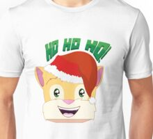 "Minecraft Youtuber Stampy Cat - Santa / Christmas / Winter / Holiday Limited Edition ""Ho Ho Ho!"" Unisex T-Shirt"