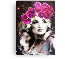 Holy Dolly Metal Print