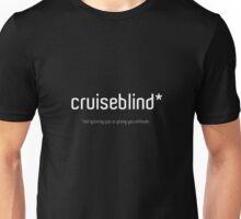Cruiseblind (black shirt version) Unisex T-Shirt