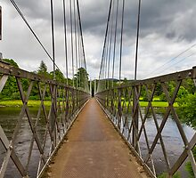 ABERLOUR - VIEW ACROSS THE PENNY BRIG by JASPERIMAGE