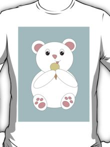 Polar Bear Eating Ice Cream T-Shirt